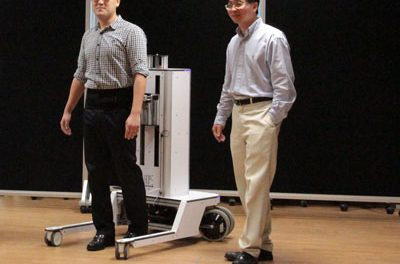 Robotic Walker Targets Recovery of Natural Gait
