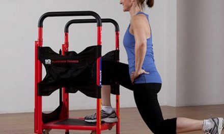 Fitness Device Combines 10 Pieces of Modified Performance and Wellness Equipment