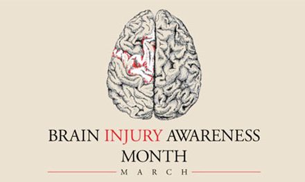 March Spotlighted as Brain Injury Awareness Month