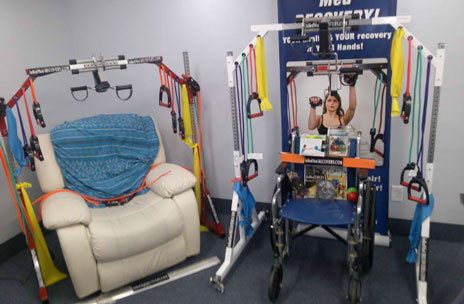 Fitness Solution Aims to Allow Users to Stay Fit in Bed, Chair, or Recliner