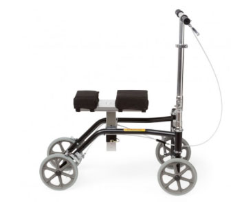 Knee Walker Built to Accommodate Patients Up to 500 Pounds