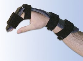 Splint Designed to Protect Flexor Tendons of Hands and Fingers Postinjury