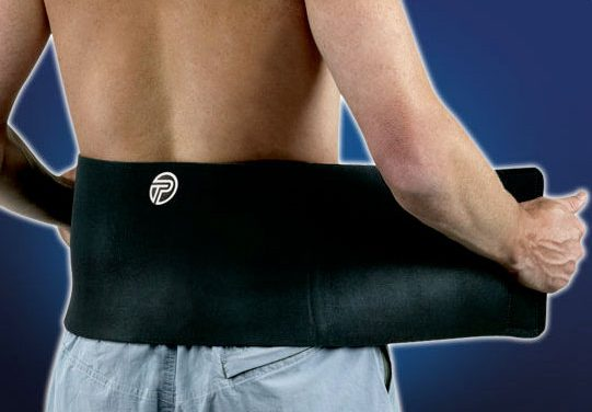 Back Wrap Offers Contoured Design, Support for Lower Back