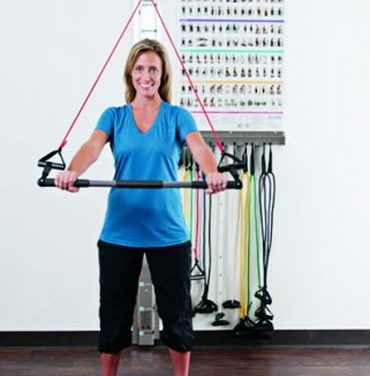 Exercise Rail System Promotes Clinic Organization, Streamlined Training Sessions