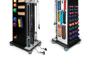 Exercise/Rack Stations Offer Storage, Portability